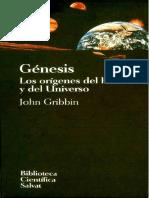 Génesis - ( los origenes del hombre y del universo ) - John Gribbin
