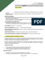 COSTOS I. COSTOS INCURRIDO DE PRODUCCIÓN.- Suma de los costos de la Materia prima, la Mano de obra y los Gastos indirectos de fabricación.