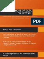 METHODS OF DATA COLLECTION-Obsrvation
