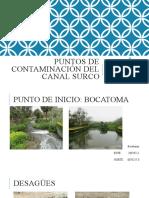 Puntos de Contaminación - CD SURCO