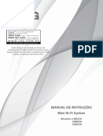 Manual Mini System CM9530 LG