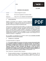 071-12 - PRE - GOB REG ANCASH - Ejecución de la garantía de seriedad de oferta