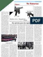 Reportaje ejército español del siglo XX A Chave 2010