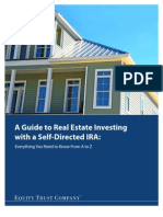 Guide to Real Estate Investing 2011 - Equity Trust Company