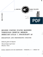 Second United States Manned Three-Pass Orbital Mission, Mercury-Atlas 7, Spacecraft 18