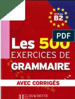 241885602 500 Exercices de Grammaire b2
