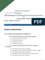 Revision d'Af 2018-2019