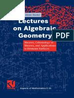 Курс Алгебраичнской Геометрии с Упором На Когомологии