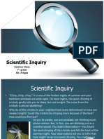 Scientific Inquiry 7th
