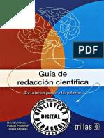 Guía de Redacción Científica. de La Investigación a Las Palabras