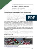 Informe Foro Social Mundial en Dakar (idioma