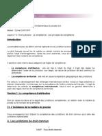 DJP 4 _ Les principes de compétence