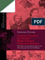 Personagens Do Pós Abolição v2 Luciana Lealdina de Araújo e Maria Helena Vargas Da Silveira