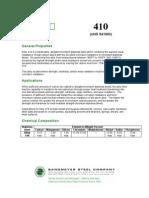 410 Spec Sheet