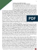 PREDICA L. (28 Diciembre 2020) HABLEMOS DE ODRES VIEJOS Y DE ODRES NUEVOS