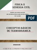 CLASE TERMODINANMICA I conceptos basicos