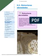 6.3.- Estructuras abovedadas
