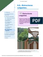6.6.- Estructuras colgantes_