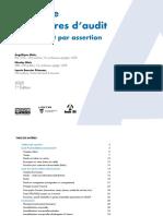guide de procédures d'audit (par cycles et par assertion)