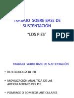 TRABAJO  SOBRE BASE DE SUSTENTACIÓN