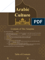 Arabic Culture by Slidesgo