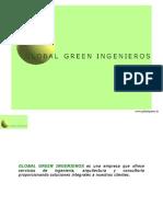 Presentación Global Green Ingenieros