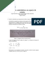 DISEÑO DE CONTROLADORES EN ESPACIO DE ESTADOS (1)