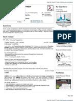Danis Ginanjar VisualCV Resume