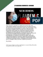 SUICIDIOS DE LA PLANDEMIA COMUNISTA