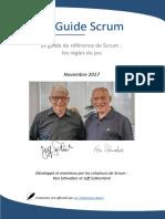 Scrum-Guide - 201711 - FR- non officiel