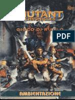 Mutant Chronicles Gdr Ita Ambientazione