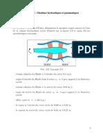 Série TD Machines Hydrauliques Et Pneumatiques 2020