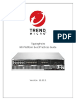 Trend Micro TippingPoint NX-Platform Best Practices Guide