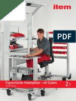 The Ergonomic Work Bench System
