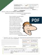Nivelación de lengua castellana 5°