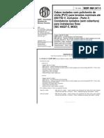 NBR 02473 - NM Errata- Cabos Isolados Com PVC