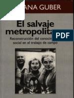 Rosana Guber - El Salvaje Metropolitano