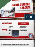 HISTORIA DEL DERECHO LABORAL