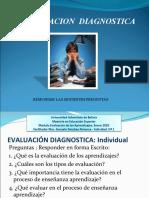 1.3. EVALUACIÓN DIAGNOSTICA