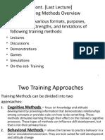 Chapter 8 (Training) B