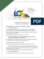 LC ENGENHARIA E ENERGIA SOLAR - LISTA DE DOCUMENTOS BNB