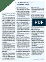 Déclaration de Fribourg 2007