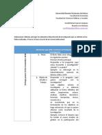 Elementos que debe contener el Protocolo de Investigación