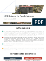 Informe Deuda Morosa 4 Trimestre 2020 - 03 de Febrero