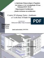 Memoire Centre Dechange Entre Etudiants