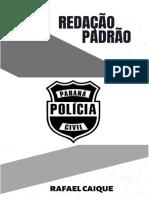 AMOSTRA CURSO REDAÇÃO PADRÃO PCPR