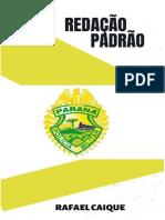 AMOSTRA CURSO REDAÇÃO PADRÃO PMPR