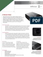 InFocus X6 X7 Datasheet En