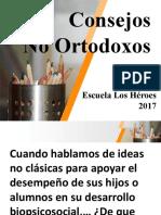 Consejos No Ortodoxos 1