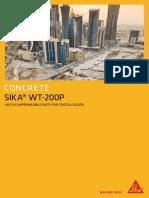 Sika WT-200P Aditivo Impermeabilizante Por Cristalización (1)
